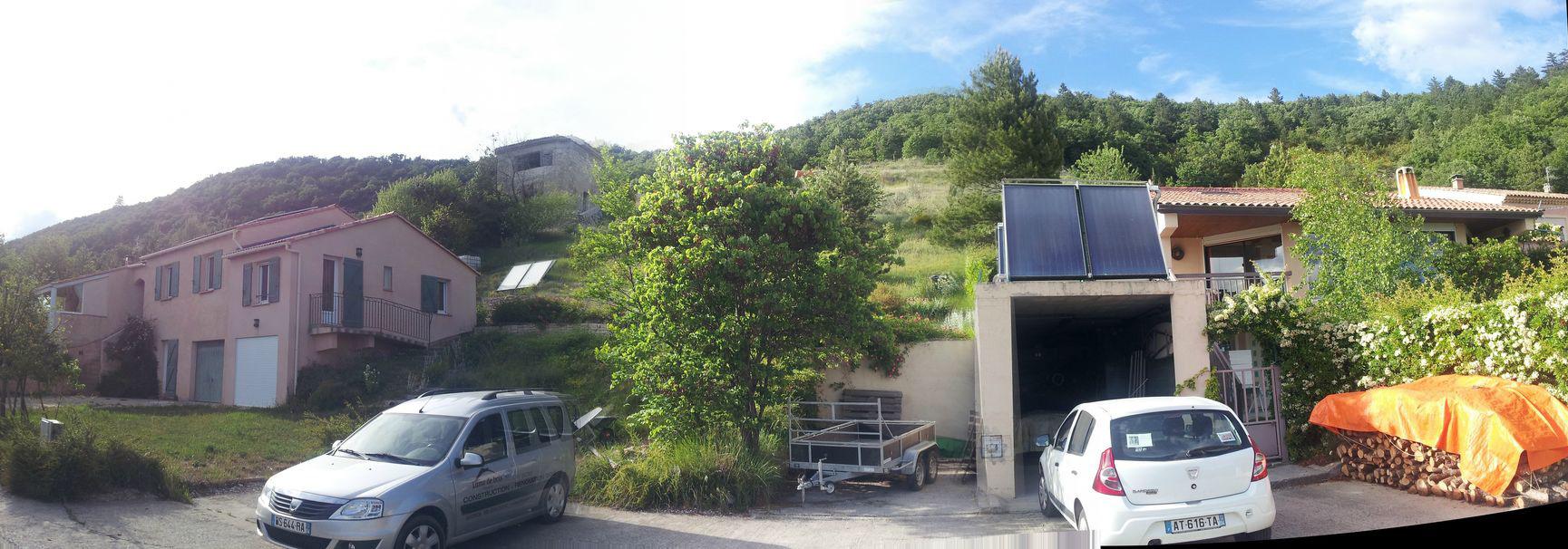 Sc architecte neuf r novation bioclimatique for Jardin 04200