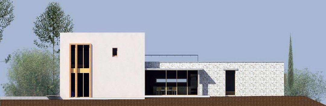 N_maison B-élévation sud- Draguignan